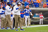 Florida Gators head coach Dan Mullen as the #6 Gators lose to the #6 Georgia Bulldogs 24-17 at TIAA Bank Field in Jacksonville, Florida on November 2nd, 2019 (Photo by David Bowie/Gatorcountry)