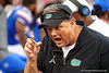 Florida Gators Defensive Coordinator Todd Grantham as the #6 Gators lose to the #6 Georgia Bulldogs 24-17 at TIAA Bank Field in Jacksonville, Florida on November 2nd, 2019 (Photo by David Bowie/Gatorcountry)
