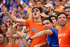 Gators fans cheer on as the Gators defeat the Towson Tigers 38-0 at Ben Hill Griffin Stadium in Gainesville, Florida on September 28th, 2019 (Photo by David Bowie/Gatorcountry)
