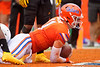 Florida Gators quarterback Kyle Trask (11) dives into the endzone as the Gators defeat the Towson Tigers 38-0 at Ben Hill Griffin Stadium in Gainesville, Florida on September 28th, 2019 (Photo by David Bowie/Gatorcountry)