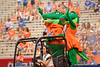 Albert and Alberta ride onto the field as the Gators defeat the Towson Tigers 38-0 at Ben Hill Griffin Stadium in Gainesville, Florida on September 28th, 2019 (Photo by David Bowie/Gatorcountry)