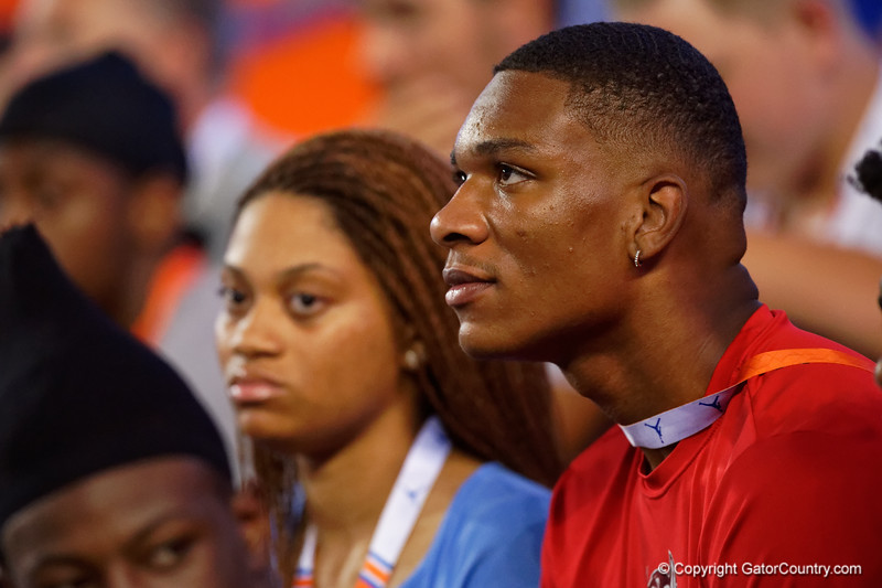 Florida Gators recruit Anthony Richardson as the Gators faced the Tennessee-Martin Skyhawks at Ben Hill Griffin Stadium in Gainesville, Florida on September 8th, 2019 (Photo by David Bowie/Gatorcountry)