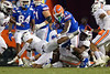 Florida Gators running back Dameon Pierce (27) as the Gators faced the Tennessee-Martin Skyhawks at Ben Hill Griffin Stadium in Gainesville, Florida on September 8th, 2019 (Photo by David Bowie/Gatorcountry)