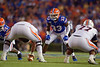 Florida Gators linebacker David Reese II (33) as the Gators faced the Tennessee-Martin Skyhawks at Ben Hill Griffin Stadium in Gainesville, Florida on September 8th, 2019 (Photo by David Bowie/Gatorcountry)