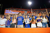 Florida Gators fans cheer on as the Gators faced the Tennessee-Martin Skyhawks at Ben Hill Griffin Stadium in Gainesville, Florida on September 8th, 2019 (Photo by David Bowie/Gatorcountry)