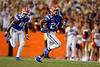 Florida Gators running back Iverson Clement (24) as the Gators faced the Tennessee-Martin Skyhawks at Ben Hill Griffin Stadium in Gainesville, Florida on September 8th, 2019 (Photo by David Bowie/Gatorcountry)