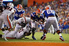 Florida Gators running back Lamical Perine (2) rushes into the endzone as the Gators faced the Tennessee-Martin Skyhawks at Ben Hill Griffin Stadium in Gainesville, Florida on September 8th, 2019 (Photo by David Bowie/Gatorcountry)