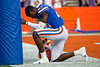 Florida Gators defensive back Trey Dean III (21) as the Gators faced the Tennessee-Martin Skyhawks at Ben Hill Griffin Stadium in Gainesville, Florida on September 8th, 2019 (Photo by David Bowie/Gatorcountry)