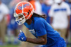 Florida Gators wide receiver Tyrie Cleveland (89) during pregame warmups as the Gators faced the Tennessee-Martin Skyhawks at Ben Hill Griffin Stadium in Gainesville, Florida on September 8th, 2019 (Photo by David Bowie/Gatorcountry)