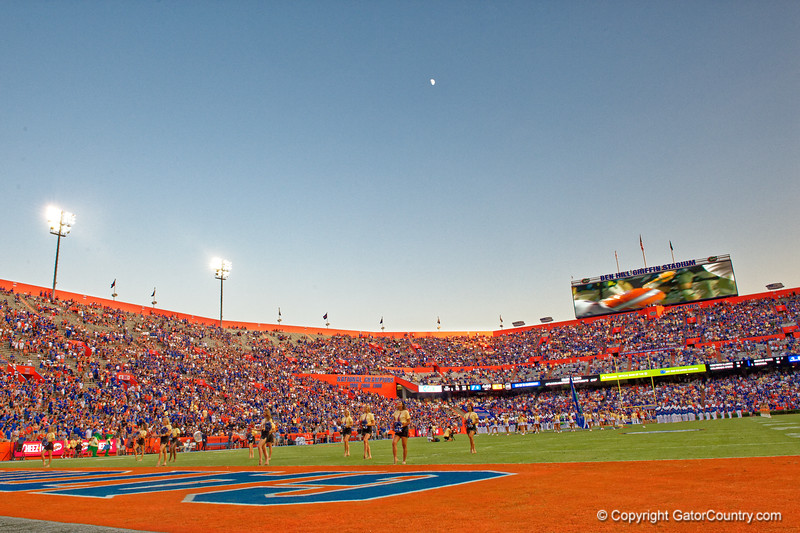 Ben Hill Griffin Stadium as the Gators faced the Tennessee-Martin Skyhawks at Ben Hill Griffin Stadium in Gainesville, Florida on September 8th, 2019 (Photo by David Bowie/Gatorcountry)