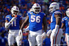 Florida Gators defensive lineman Tedarrell Slaton (56) as the Gators faced and defeat the Vanderbilt Commodores 56-0 at Ben Hill Griffin Stadium in Gainesville, Florida on November 9th, 2019 (Photo by David Bowie/Gatorcountry)