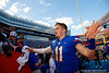 Florida Gators quarterback Kyle Trask (11) and the Gators celebrate after defeating the Vanderbilt Commodores 56-0 at Ben Hill Griffin Stadium in Gainesville, Florida on November 9th, 2019 (Photo by David Bowie/Gatorcountry