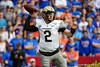 Vanderbilt Commodores quarterback Deuce Wallace (2) passing as the Gators faced and defeat the Vanderbilt Commodores 56-0 at Ben Hill Griffin Stadium in Gainesville, Florida on November 9th, 2019 (Photo by David Bowie/Gatorcountry)