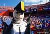 Vanderbilt Commodores mascot as the Gators faced and defeat the Vanderbilt Commodores 56-0 at Ben Hill Griffin Stadium in Gainesville, Florida on November 9th, 2019 (Photo by David Bowie/Gatorcountry)