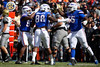 Florida Gators defensive lineman Adam Shuler (88) celebrating as the Gators defeat the Vanderbilt Commodores 56-0 at Ben Hill Griffin Stadium in Gainesville, Florida on November 9th, 2019 (Photo by David Bowie/Gatorcountry)
