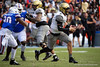 Vanderbilt Commodores quarterback Deuce Wallace (2) scrambling as the Gators faced and defeat the Vanderbilt Commodores 56-0 at Ben Hill Griffin Stadium in Gainesville, Florida on November 9th, 2019 (Photo by David Bowie/Gatorcountry)
