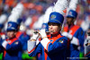 The University of Florida Gators Band performs as the Gators defeat the Vanderbilt Commodores 56-0 at Ben Hill Griffin Stadium in Gainesville, Florida on November 9th, 2019 (Photo by David Bowie/Gatorcountry)