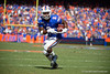 Florida Gators running back Lamical Perine (2) catches a pass and turns upfield as the Gators defeat the Vanderbilt Commodores 56-0 at Ben Hill Griffin Stadium in Gainesville, Florida on November 9th, 2019 (Photo by David Bowie/Gatorcountry)