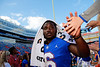 Florida Gators running back Nay'Quan Wright (6) and the Gators celebrate after defeating the Vanderbilt Commodores 56-0 at Ben Hill Griffin Stadium in Gainesville, Florida on November 9th, 2019 (Photo by David Bowie/Gatorcountry