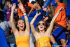 Gator Fans cheer on as the Gators faced and defeat the Vanderbilt Commodores 56-0 at Ben Hill Griffin Stadium in Gainesville, Florida on November 9th, 2019 (Photo by David Bowie/Gatorcountry)