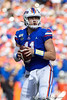 Florida Gators quarterback Kyle Trask (11) looks downfield as the Gators faced and defeat the Vanderbilt Commodores 56-0 at Ben Hill Griffin Stadium in Gainesville, Florida on November 9th, 2019 (Photo by David Bowie/Gatorcountry)