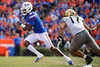 Florida Gators quarterback Emory Jones (5) rushing for a touchdown as the Gators faced and defeat the Vanderbilt Commodores 56-0 at Ben Hill Griffin Stadium in Gainesville, Florida on November 9th, 2019 (Photo by David Bowie/Gatorcountry)