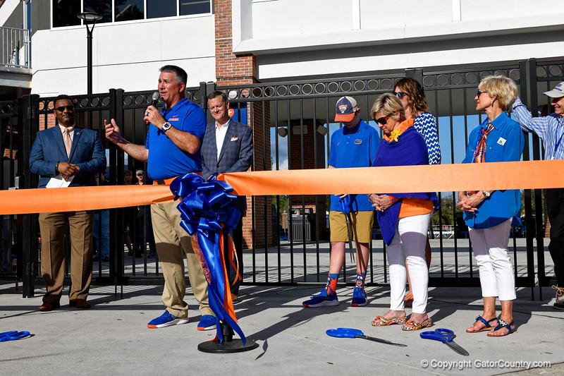 University of Florida Gators Softball Renovated Stadium Ribbon Cutting 2019