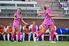 Florida Gators midfielder Parker Roberts (22) reacts to a referees call as the Gators defeat the Kentucky Wildcats 4-2 at Donald R. Dizney Stadium in Gainesville, Florida on October 13th, 2019 (Photo by David Bowie/Gatorcountry)