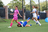 Florida Gators forward Madison Alexander (14) gets past the goalie as the Gators defeat the Kentucky Wildcats 4-2 at Donald R. Dizney Stadium in Gainesville, Florida on October 13th, 2019 (Photo by David Bowie/Gatorcountry)