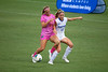 Florida Gators midfielder Tess Sapone (10) battles Kentucky Wildcats defender Koziara, Hunter (13) as the Gators defeat the Kentucky Wildcats 4-2 at Donald R. Dizney Stadium in Gainesville, Florida on October 13th, 2019 (Photo by David Bowie/Gatorcountry)