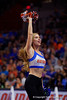 The Florida Gators Dazzlers cheer on as the Gators faced the #1 Stanford Cardinals at the Stephen C. O'Connell Center in Gainesville, Florida on September 4th, 2019 (Photo by David Bowie/Gatorcountry)