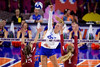 Florida Gators outside hitter Thayer Hall (20) as the Gators faced the #1 Stanford Cardinals at the Stephen C. O'Connell Center in Gainesville, Florida on September 4th, 2019 (Photo by David Bowie/Gatorcountry)