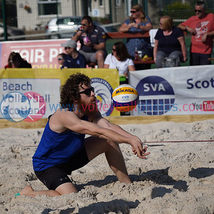CEV SCA Beach Volleyball Finals 2019, Darnhall Tennis Club, Perth, Sat 21st Sep 2019. © Michael McConville. To buy unwatermarked prints and JPGs, visit https://www.volleyballphotos.co.uk/2019-Galleries/CEV-FIVB-Events/2019-09-21-BVF