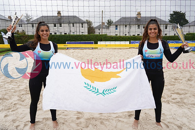 CEV SCA Beach Volleyball Finals 2019, Darnhall Tennis Club, Perth, Sun 22nd Sep 2019. © Michael McConville. To buy unwatermarked prints and JPGs, visit https://www.volleyballphotos.co.uk/2019-Galleries/CEV-FIVB-Events/2019-09-22-BVF
