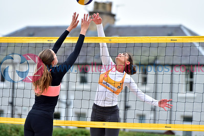 CEV SCD Beach Volleyball Finals, Darnhall Tennis Club, 22 September 2019.  © Lynne Marshall  https://www.volleyballphotos.co.uk/2019-Galleries/CEV-FIVB-Events/2019-09-22-BVF/
