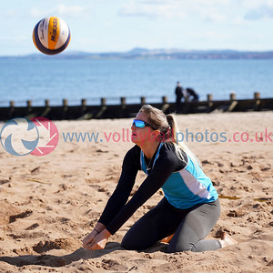 Beach Volleyball Scotland Finals, Portobello, Sat 7th Sep 2019.  © Michael McConville.  To buy unwatermarked prints or digital images, visit https://www.volleyballphotos.co.uk/2019-Galleries/SCO/Beach/2019-09-07-BVS-Finals