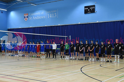 2019 Flying Scots International Invitational Day 1, St Andrews University Sports Centre, 30 August 2019.  © Lynne Marshall  https://www.volleyballphotos.co.uk/2019-Galleries/SCO/Flying-Scots/2019-08-30-FS/