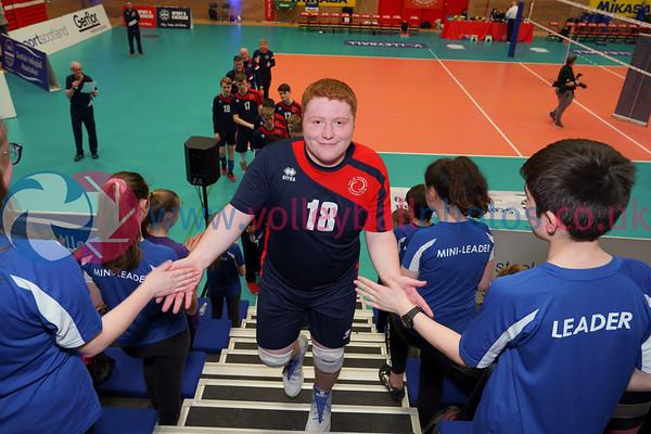 City of Edinburgh 2 v 0 Volleyball Aberdeen (23, 17), 2019 U18 Boys Scottish Cup Final, University of Edinburgh Centre for Sport and Exercise, Sun 14th Apr 2019.  © Michael McConville   https://www.volleyballphotos.co.uk/2019-Galleries/SCO/Junior-SVL/2019-04-14-Boys-U18