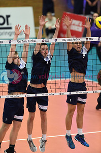 Scottish Volleyball Men's Student Sport 1 v 3 Scotland U23 (22-25, 25-13, 23-25, 23-25), University of Edinburgh Centre for Sport and Exercise, 12 April 2019.  © Lynne Marshall  https://www.volleyballphotos.co.uk/2019-Galleries/SCO/Misc/2019-04-12-Mens-SSS-v-Scotland-U23/