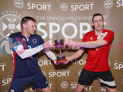 City of Glasgow Ragazzi 1 v 3 City of Edinburgh (23-25, 23-25, 25-22, 22-25), 2019 Men's Scottish Cup Final, University of Edinburgh Centre for Sport and Exercise, Sat 13th Apr 2019.  © Michael McConville. Action photos available at:  https://www.volleyballphotos.co.uk/2019-Galleries/SCO/National-Cups/2019-04-13-Mens-Cup-Final
