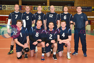 Men's Plate Final, South Ayrshire II v Su Ragazzi II, University of Edinburgh, Centre for Sport and Exercise, 13 April 2019.