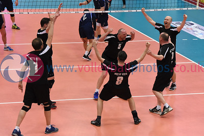 Men's Plate Final, Mets Vets 3 v 0 Lenzie (21, 22, 27), University of Edinburgh, Centre for Sport and Exercise, 13 April 2019.  © Lynne Marshall  https://www.volleyballphotos.co.uk/2019-Galleries/SCO/National-Cups/2019-04-13-Mens-Plate-Final/