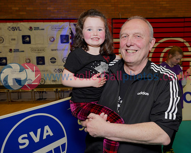 Troon Caledonia West Vets 3 v 2 University of Edinburgh II (18-25, 17-25, 25-20, 25-23, 15-11), 2019 Women's Scottish Plate Final, University of Edinburgh Centre for Sport and Exercise, Sat 13th Apr 2019.  © Michael McConville   https://www.volleyballphotos.co.uk/2019-Galleries/SCO/National-Cups/2019-04-13-Womens-Plate-Final