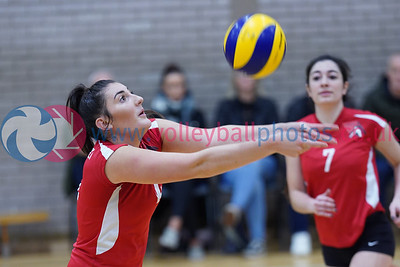 City of Edinburgh 0 v 3 Su Ragazzi (24, 21, 21), SVL Women's Premier Division, Queensferry High School, Edinburgh, Sat 12th Oct 2019.  To buy unwatermarked prints or hi-res images, visit:  https://www.volleyballphotos.co.uk/2019-Galleries/SCO/SVL/2019-10-12-coe-su-ragazzi
