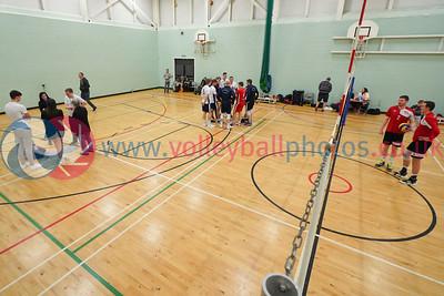 City of Glasgow Ragazzi 0 v 3 City of Edinburgh (22, 20, 21), Men's SVL Premier, Coatbridge High School, Sat 7th Dec 2019.  © Michael McConville