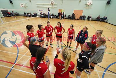 Su Ragazzi 3 v 0 City of Edinburgh (20, 13, 24), Women's SVL Premier, Coatbridge High School, Sat 7th Dec 2019.  © Michael McConville