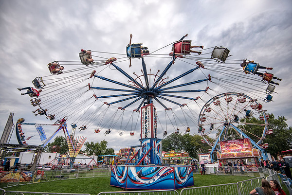 James Neiss/staff photographer <br /> Lewiston, NY - The 62nd Annual Niagara County Peach Festival, hosted by the Lewiston Kiwanis, is in full swing this weekend with food, entertainment, rides and fun for all.