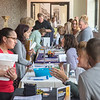 James Neiss/staff photographer <br /> North Tonawanda, NY - More than 25 business came to the North Tonawanda Career Fair at the Wurlitzer Events center on Wednesday.