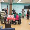 James Neiss/staff photographer <br /> Niagara Falls, NY - Participants mingle at the Niagara Falls Memorial Center Black History Month Health Fair and Luncheon.