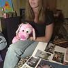 031212 bolender3/dan cappellazzo photo/story/NF- Jen Bolenders mother Tina Balsano (check spelling) in jennifers bedroom, holds jens favorite  stuffed dog on the yr annivesary of her daughters brutal murder.